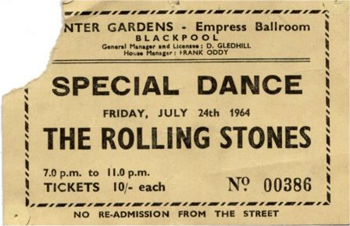 THE ROLLING STONES RIOTED IN BLACKPOOL IN 1963